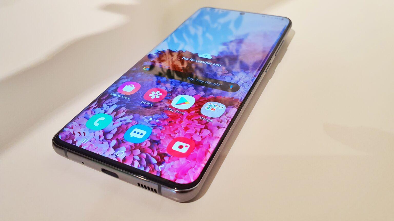 طراحی و نمایشگر گوشی S20 اولترا